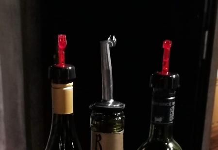 甲州市勝沼ぶどうの丘のワインセラーの注ぎ口