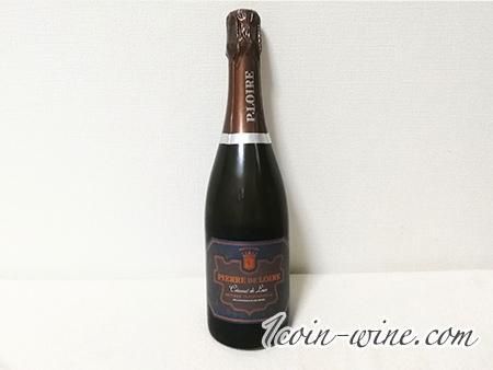 ファミマのスパークリングワイン、ピエール・ド・ロワールのボトル