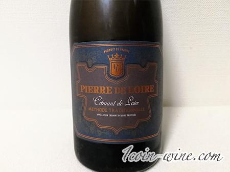ファミマのスパークリングワイン、ピエール・ド・ロワールのラベル