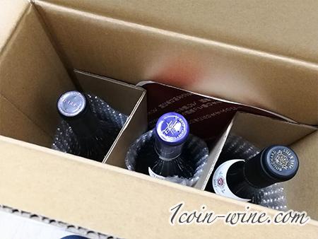 うきうきワインの玉手箱の2021年福袋を開けたところ